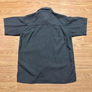 authentic shaolin Shirts & Tops - Authentic Shaolin Boys Small grey Button Down Top